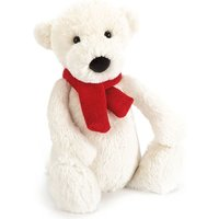 Bashful polar bear small soft toy