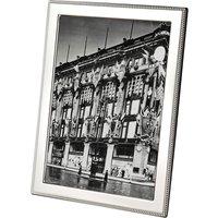 "ARTHUR PRICE   Arthur Price Bead sterling silver photo frame 10"" x 8""   Goxip"