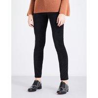 Velvet skinny high-rise jeans