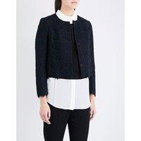 Claudie Pierlot Vanity lace jacket, Women's, Size: 8, Marine