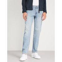 定期-适合 直 牛仔裤