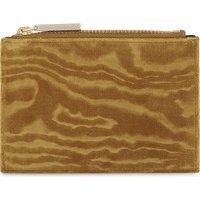 Woodcut velvet coin purse