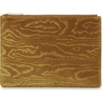 Woodcut velvet medium clutch bag