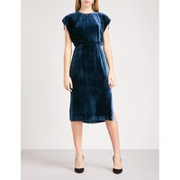 Nicole cutout velvet dress