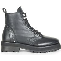 Rangers studded leather biker boots