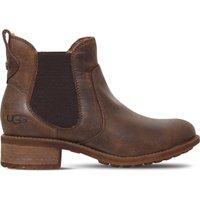 Ugg Bonham leather ankle boots, Women's, Size: EUR 36 / 3 UK WOMEN, Dark brown