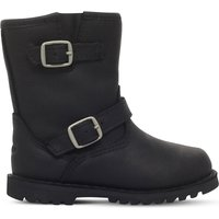 Ugg Harwell leather boots 2-4 years, Size: EUR 22.5 /6 UK, Black