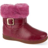 Ugg Gemma leather boots 2-5 years, Size: EUR 22.5 /6 UK, Fushia