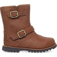 Ugg Harwell leather boots 2-7 years, Size: EUR 22.5 /6 UK, Mid brown