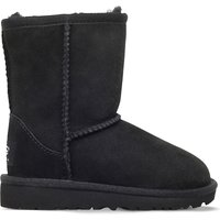 Ugg Classic short sheepskin boots 2-7 years, Size: EUR 22.5 /6 UK, Black