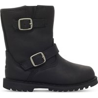 Ugg Harwell leather boots 7-10 years, Size: EUR 32 / 13 UK, Black