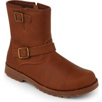 Ugg Harwell leather boots 7-10 years, Size: EUR 31 / 12.5 UK KIDS, Mid brown