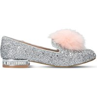 Mini Lap glitter-embellished loafers 7-9 years