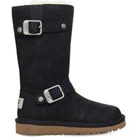 Ugg Kensington leather boots 4-10 years, Size: EUR 28 / 10 UK KIDS, Black