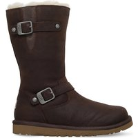 Ugg Kensington leather boots 5-9 years, Size: EUR 28 / 10 UK KIDS, Brown