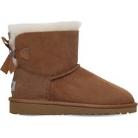 Ugg Mini bailey bow boots 6-9 years, Size: EUR 31 / 12.5 UK KIDS, Brown