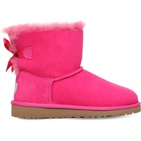Ugg Mini bailey bow boots 6-9 years, Size: EUR 34 / 2 UK ADULT, Pink