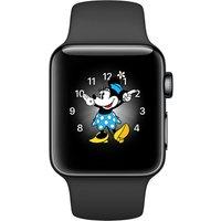 APPLE | Series 2 space black stainless steel 38mm Apple Watch | Goxip