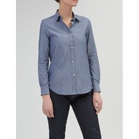 COMMUNITY CLOTHING | Community Clothing Tailored-fit cotton-chambray shirt | Goxip