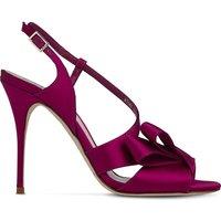 Lk Bennett Erica asymmetric sandals, Women's, Size: EUR 35 / 2 UK WOMEN, Pin-fuchsia