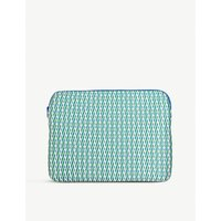 Sally Cheung Evergreen geometric laptop case 27cm