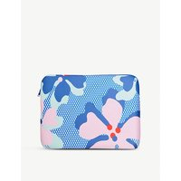 Sally Cheung Hibiscus Blue captop case 27cm