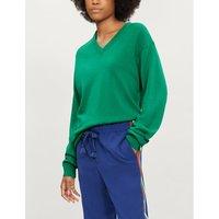 Unisex V-neck cashmere jumper