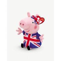 TY Union Jack Peppa Pig beanie