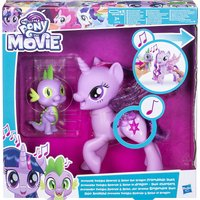 My Little Pony Princess Twilight Sparkle and Spike The Dragon Friendship Duet toy figures