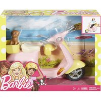 Barbie Moped and puppy