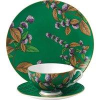 Wedgwood Green tea and mint tea garden 3-piece china set