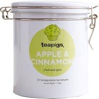 Teapigs Tin of 20 Apple & Cinnamon tea temples