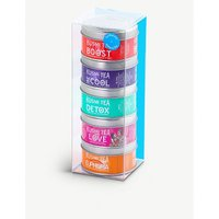 Kusmi Tea Wellness Teas gift set with tea infuser 5x25g, Size: 1 Size