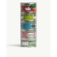 Kusmi Tea Green Teas Miniature sampler set 5x25g, Size: 1 Size