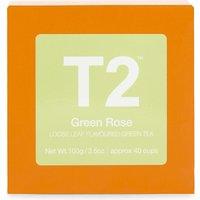 Green Rose loose leaf flavoured green tea 100g