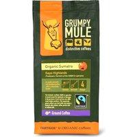Grumpy Mule Organic Sumatra Gayo Highlands ground coffee 227g, Size: One Size