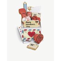 Vintage Love Letter biscuit tin