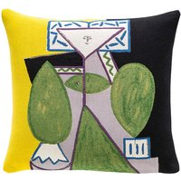 The Conran Shop Jules Pansu Picasso cushion cover 45x45cm, Multi-coloured