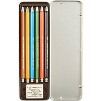 The Conran Shop Set of six coloured mechanical pencils