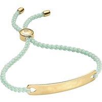 Monica Vinader Havana 18ct gold-plated friendship bracelet, Women's