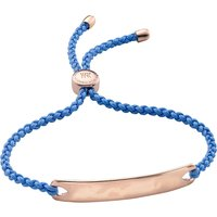 Monica Vinader Havana 18ct rose gold-plated friendship bracelet, Women's