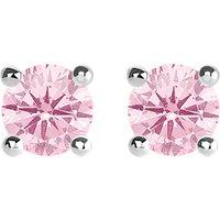 华丽 和 灵魂 粉红色 石 大 英镑 银 耳环