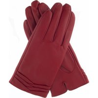 Layered leather gloves