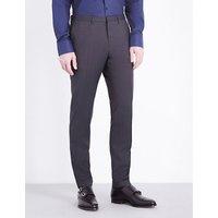 Hugo Boss Wave wool trousers, Mens, Size: 30, Dark grey