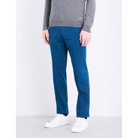 定期-适合 伸展-棉 裤子