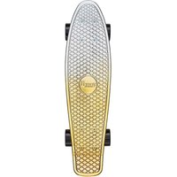 Penny Boards Kids Metallic Finish Gold & Silver Skateboard