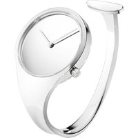 Georg Jensen Vivianna stainless steel bangle watch 34mm, Women's, Size: S