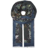 Maxy Patchwork jungle print scarf