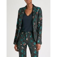 Very jungle-jacquard blazer