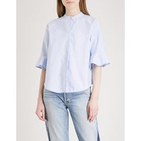 Charly flared-sleeve cotton shirt